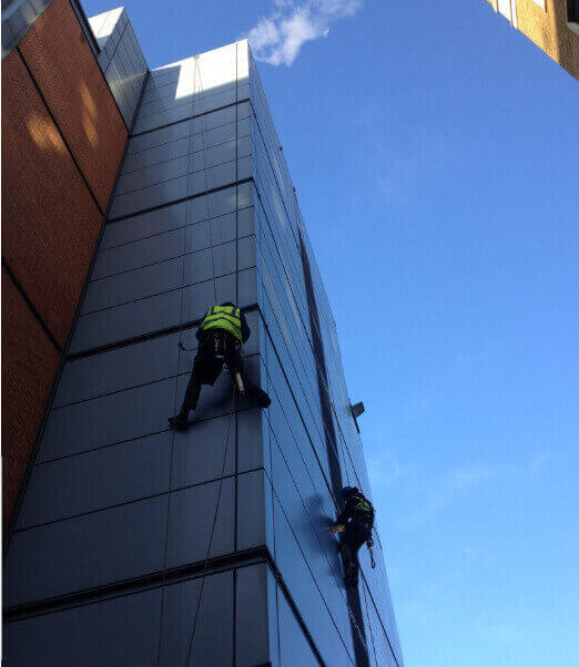 rope access plumbing London