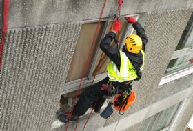 Waterproofing masticing joints to buildings in Ealing London