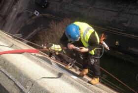 Waterproofing masticing joints to buildings Ealing London
